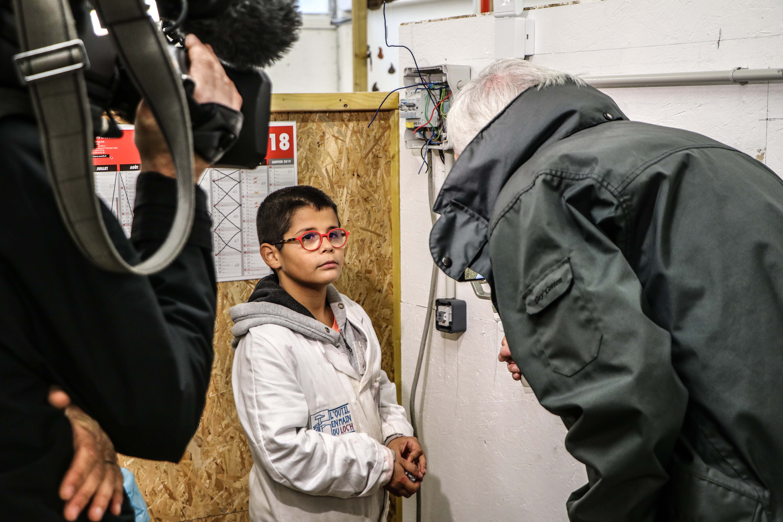 tournage-france-3-bretagne-atelier-electricite-temoignage